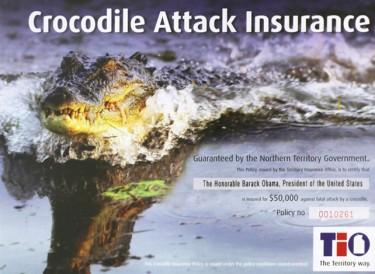 Obama Crocodile Insurance