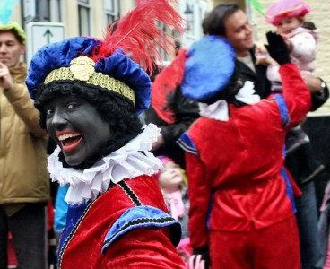 Zwarte Piets in The Hague, The Netherlands