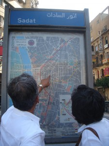 Cairo Map. Image by Flickr user rien @ ISTANBUL & ABROAD (CC BY-NC-SA 2.0).