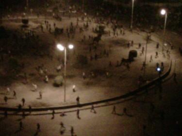 وصول الألتراس إلى ميدان التحرير، الصورة نشرها بل ترو على تويتر.