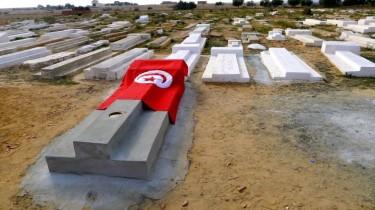 Mohamed Bouazizi's grave in Sidi Bouzid