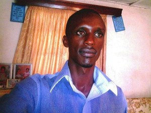 Rwandan online journalist Charles Ingabire. Photo courtesy of umuvugizi.com.