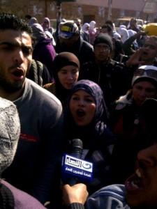 Victorious Samira Ibrahim
