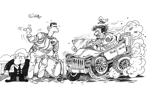 Image by Syrian cartoonist Ali Ferzat