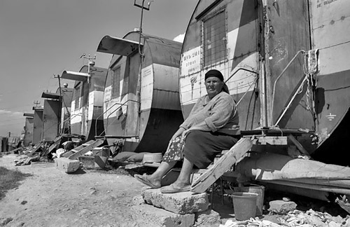 Ethnic Armenian refugee from Nagorno Karabakh © Onnik Krikorian 1994