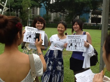 Slutwalk Singapore. Photo from Irene Ma