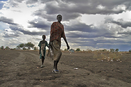 Displaced population caused by cattle raiding in Pibor county, Jonglei State © Liang Zi/Médecins Sans Frontières (MSF)