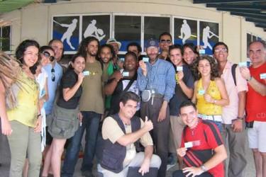 #TwitHab 2011. Photo by Elaine Díaz.