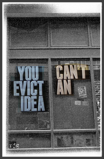 You can't evict an idea