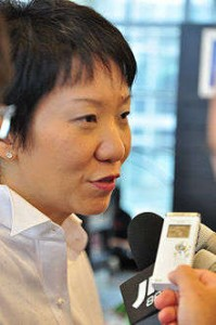 Minister Grace Fu. Image from Wikipedia.