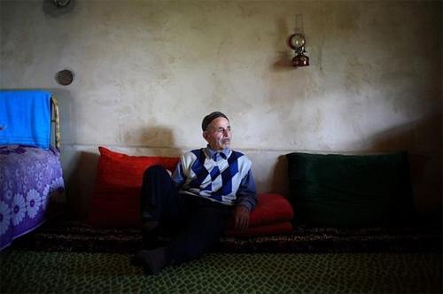 Salim Khamdiv of Abastumani village. Khamdiv was 14 when the deportation happened © Temo Bardzimashvili