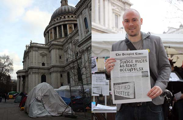 Occupy London and Steve
