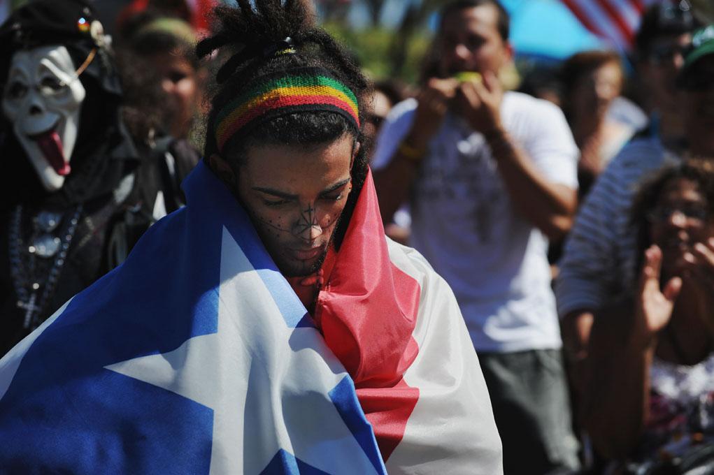 флаг пуэрто рико