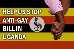Help Stop Uganda anti-gay bill. Image source: www.humanrightsfirst.org/