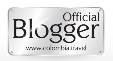 """Official Blogger"" logo found on the personal blog of participating bloggers"