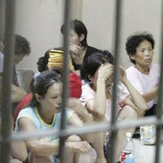 North Korean refugees in China. Photo from Change.org