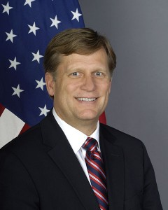Michael McFaul, Ambassador of the United States of America to the Russian Federation. Photo by the U.S. Department of State, in public domain.