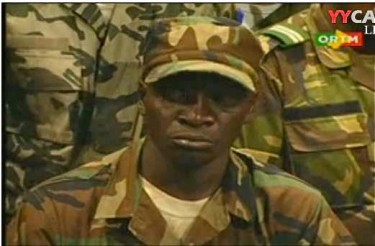 Captain Sanogo, Leader of the Military Junta, photo via @Youngmalian