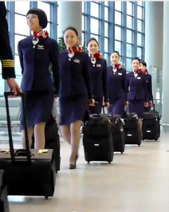 Asiana Flight Attendants