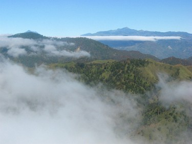 View over Xavier do Amaral's region of origin, central Timor. Author's photo