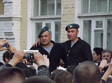 Protest in Astrakhan, Russia (14/5/2012) Photo by Rikki Brown