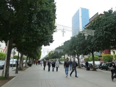 Habib Bourguiba Avenue. Image by Flickr user Tab59 (CC BY-SA 2.0).