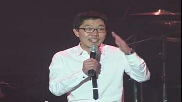 Kim Jae-dong, participating in the broadcaster's strike against unfair journalism, Screen capture image of a Youtube video uploaded by user mbcunion2012