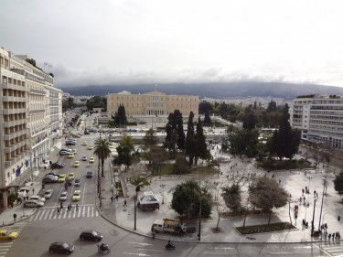Syntagma Square, Athens, Greece. Image by Flickr user YanniKouts (CC BY-NC-SA 2.0).