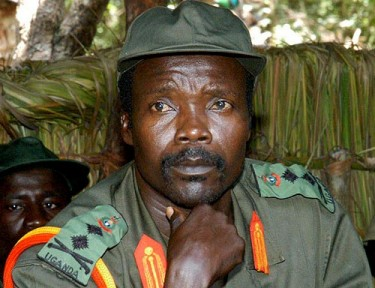 Joseph Kony - head of the Lord's Resistance Army (LRA). Photo released by Flickr user Chris Shultz under Creative Commons (CC BY-SA 2.0).