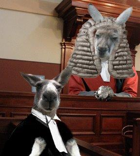 Kangaroo Justice verdict according to Lorenzo Gatorr.Photo courtesy:Lorenzo Gartorr