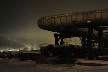Газова линия в Новосибирск, Русия (19.12.2011). Снимка от AIHAM DIB, лиценз © Demotix.