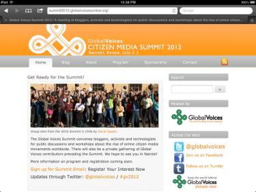 Уеб сайт на срещата