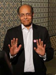 Moncef Marzouki Elected Interim President of Tunisia, Photo by Amine Landoulsi © Copyright Demotix (December 2011)