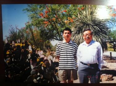 Wang Dan e Fang Lizhi
