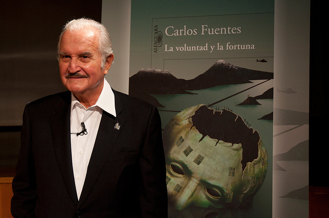 Carlos Fuentes 2008. Foto des Flickr-Nutzers Casa de América (CC BY-NC-ND 2.0)