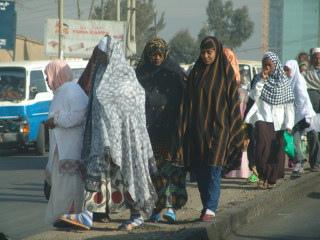 Donne etiopi musulmane.
