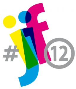 #ijf12 became a trending topic on Twitter. Picture: official logo.