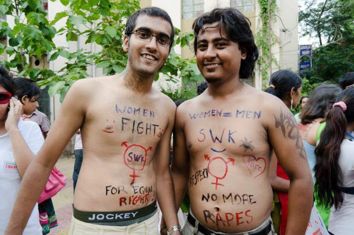 SlutWalk Kolkata 2012