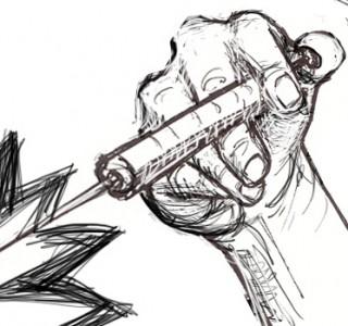 Syringe sketch