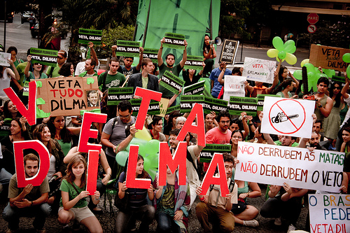 Protest in Belo Horizonte, May 5, 2012. Photo by Fora do Eixo on Flickr (CC BY-SA)
