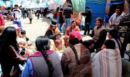 Ajtapi à El Alto, Bolivie. Photo de Solange González Henott, utilisée avec l'autorisation d'Otroamérica