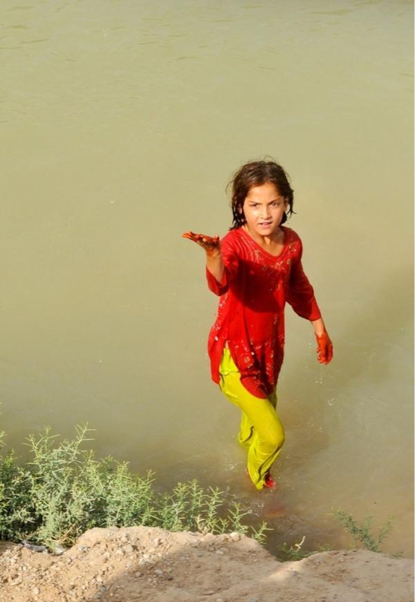 Das Mädchen im See