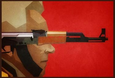 كاريكاتير عن الجيش الروسي