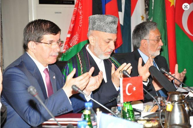 Il Presidente Afghano, Hamid Karzai, presiede la conferenza ministeriale 'Cuore dell'Asia' a Kabul
