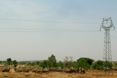 A village with no electricity