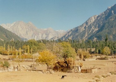 Kohistan scene. Image from Flickr by yumievriwan. CC BY-NC-ND.