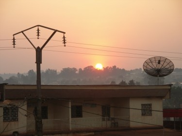 Power lines in Cameroon