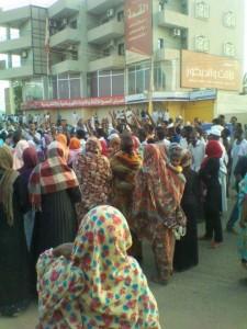 Donne sudanesi in prima linea