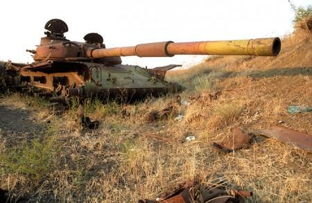 Relics of War, Nagorno Karabakh © Onnik Krikorian