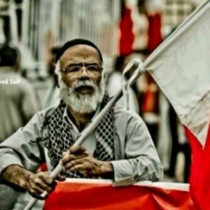 Abdulmajeed, an elderly man arrested in Bahrain reportedly for defending women